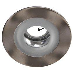 4 inch Shower Trim - Regressed Color: Satin Inner Color: Chrome