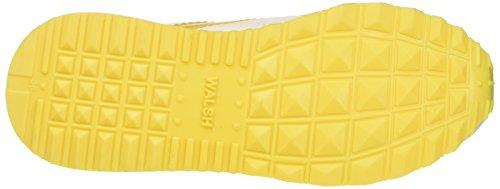 Walsh Women's Run Style Basketball Shoes Multicolour (White/Yellow White/Yellow) ZyGvI4