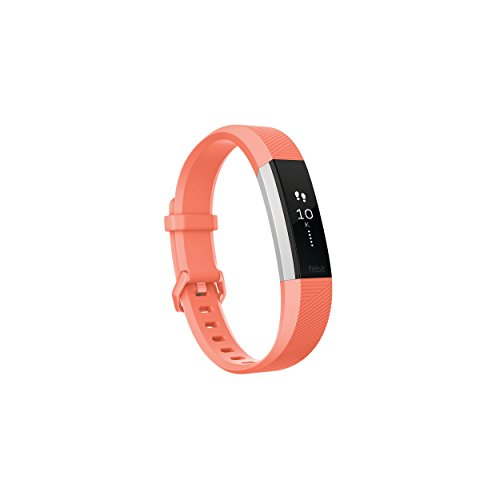 Fitbit Alta HR Activity Tracker Heart Rate Fitness Wristband Small Coral Renewed