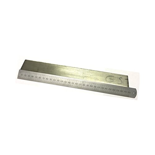 Flat Bar 40 mm 5 mm 300 mm T304 Stainless Steel - 300 mm Length Pack Size : 1