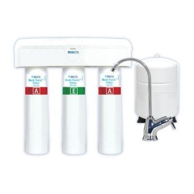 Brita WFUSS335 Redi-Twist 3-Stage Reverse Osmosis Drinking Water Filtration Sys