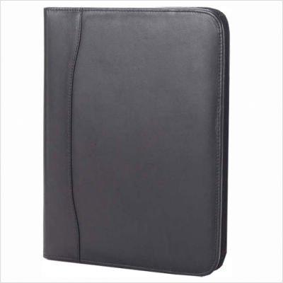 Quinley Zip Padfolio in Black Customize: Yes