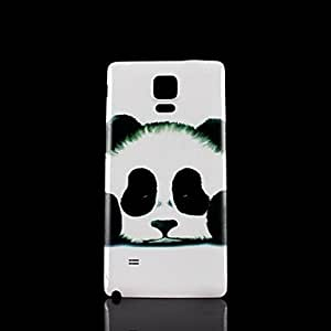 Panda Pattern Hard Case for Samsung Galaxy Note 4