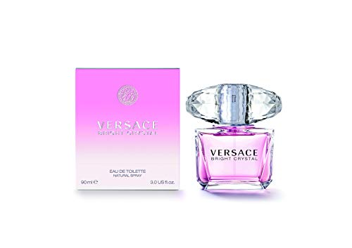 Versace Bright Crystal Eau de Toilette Spray for Women, 3 FL Oz (Para Mujer Perfumes)