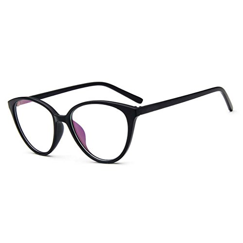 College Style Classic Myopia Clear Lens Eyeglasses Cateye Reading Glasses - Hut Little Web