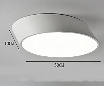 Hza einfache moderne led lampen nordic rampe rund kreative