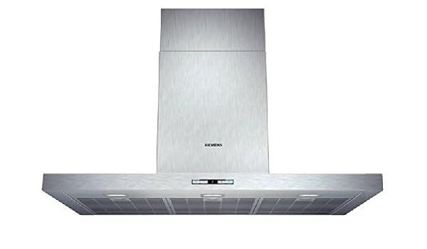 Siemens LC98BF542 Campana extractora de pared, 9 W, Acero inoxidable, 5 Velocidades: 378.79: Amazon.es: Grandes electrodomésticos