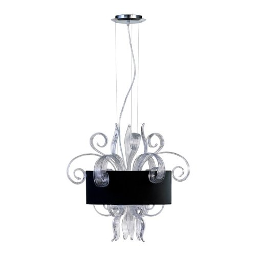 Glass Jellyfish Pendant Light in US - 6