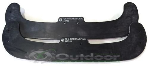 Set of 2 Husqvarna Poulan McCulloch OEM Snow Blower Auger Paddles 532442759