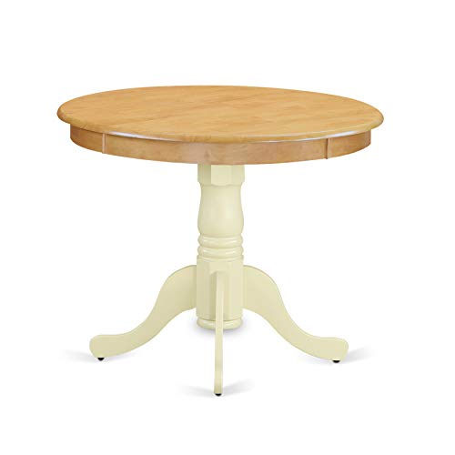 (East West Furniture ANT-OMK-TP Antique Table 36