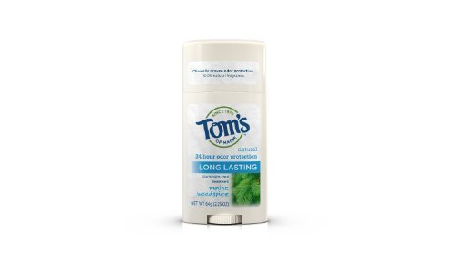 Tom's of Maine Woodspice Deodorant Stick (Pack of 6) 60 m...