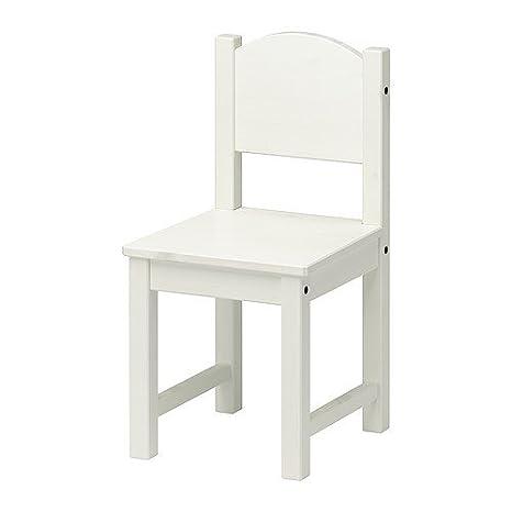 Ikea Sedia per bambini, colore: Bianco: Amazon.it: Casa e cucina