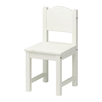 Ikea SUNDVIK - Niños-s Silla, Blanco: Amazon.es: Hogar