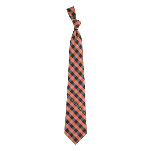 Eagles Wings Baltimore Orioles MLB Check Poly Necktie