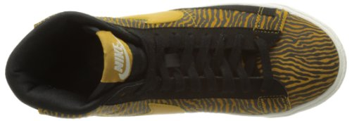 Blazer Sneakers racer white Basses Pink Noir Nike Wmns Print Femme Suede 001 Mid black Z5X7XRwxFq