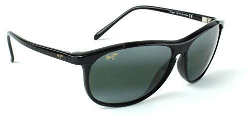 Maui Jim GS247-17 Cliff House Polarized Sunglasses Silver Titanium Frame / Neutral Grey - Maui Faces Small Sunglasses Jim For