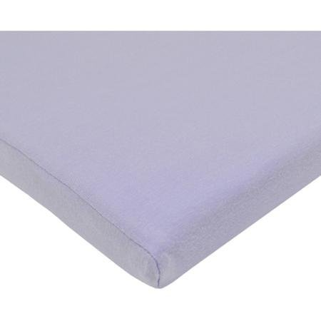 TL Care Supreme 100% Cotton Jersey Knit Fitted Cradle Sheet, Lavender