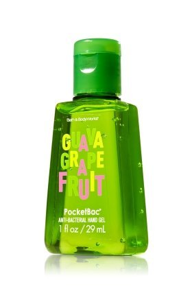 Citrus Antibacterial Hand Gel (Bath and Body Works PocketBac Anti Bacterial Hand Gel Summer Fragrance Guava Grapefruit)