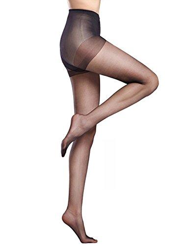 Yirind Girls Women Sexy Super Elastic Oversize Patchwork Stockings Pantihose New Hosiery,Black