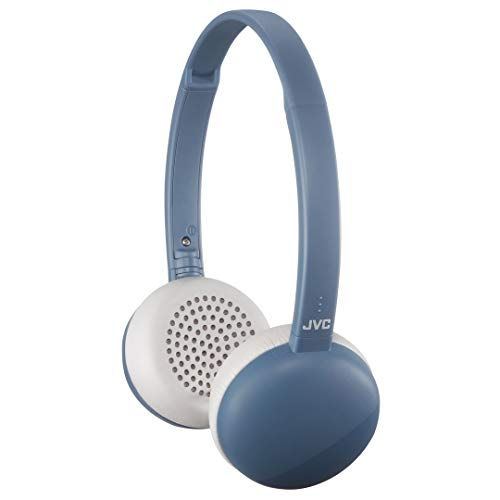 Light Weight Fashion Wireless Bluetooth on Ear Headphones mic Remote JVC HA-S20BTA