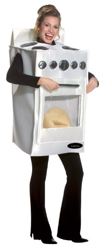 Loaf Of Bread Costume (Rasta Imposta Bun In The Oven, White, One Size)