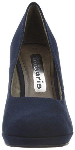 Tamaris 22407, Zapatos de Tacón para Mujer Azul (NAVY 805)