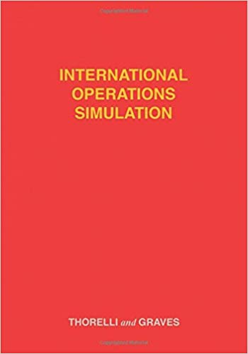 International Operations Simulation: Hans B. Thorelli ...