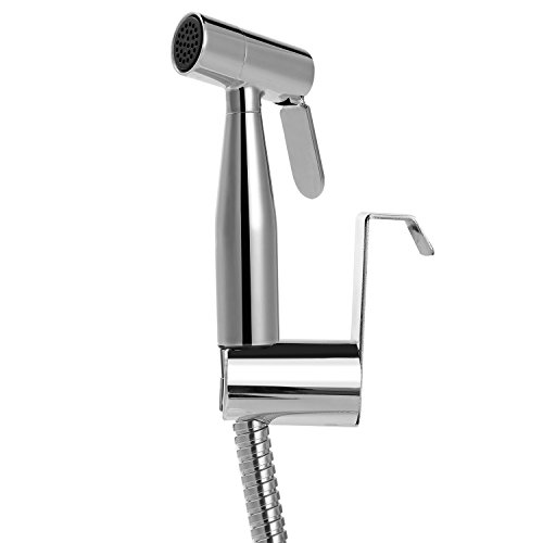 Hankor Luxury Handheld Bidet Sprayer Set for Toilet, Stainless Steel Baby Diaper Sprayer Bidet Shattaf Sprayer for Personal Hygiene, Feet, Pets by Hankor