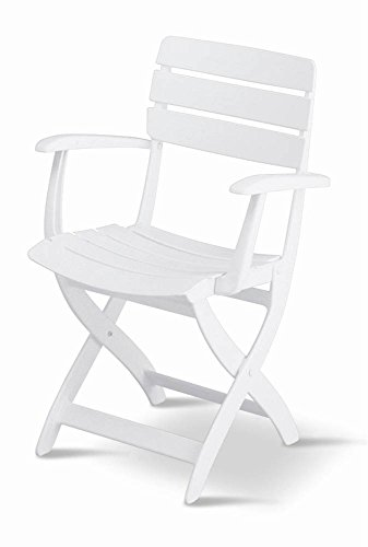 KETTLER Venezia Folding Arm Chair, Resin (Kettler Patio)