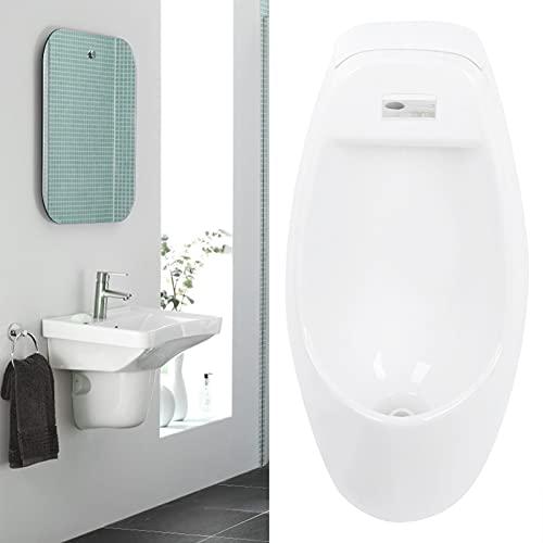 Urinoir voor wandmontage, met spoelsysteem, urinoir, om op te hangen, badkamer, toilet, volwassenen, heren, interieur…