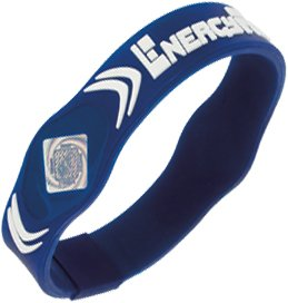Energy Force Wrist Band (Navy with White, Small) by Energy Force (Image #2)