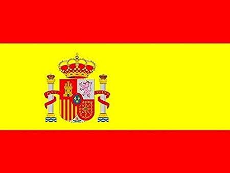 HC enterprise Bandera España,150x90cm, 2 Unidades: Amazon.es: Deportes y aire libre