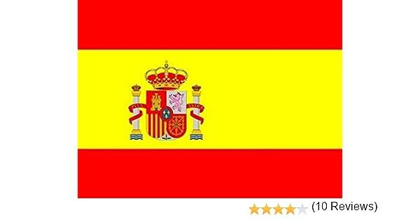 HC enterprise Bandera España,150x90cm, 2 Unidades: Amazon.es ...