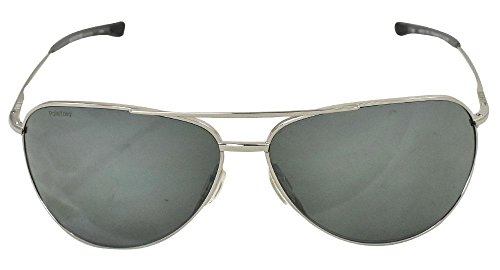 Smith Optics Rockford Sunglasses, Silver Frame, Polar Platinum Carbonic TLT - Smith Sunglasses