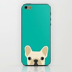 iPhone 6 Case, WBowen Blue Puppy Pattern hard Case for iPhone 6