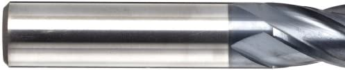 YG-1 EM639 Carbide Corner Radius End Mill 0.5 Cutting Diameter 30 Deg Helix 4 Flutes 0.090 Corner Radius 0.5 Shank Diameter Uncoated Finish 4 Overall Length Bright
