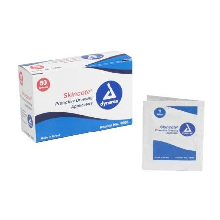 (DYNAREX Protective Dressing Applicator Wipe Skincote (#1506, 1 box of 50 count))