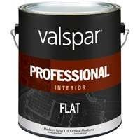 Valspar 11612 Professional Latex Flat with Med Base, 1 gallon