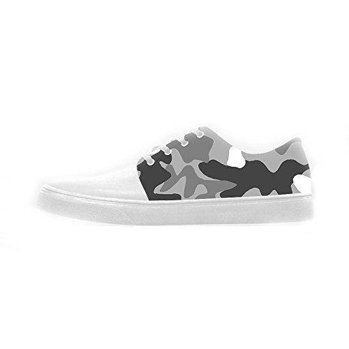 Custom camuffamento Womens Canvas shoes Le scarpe le scarpe le scarpe.