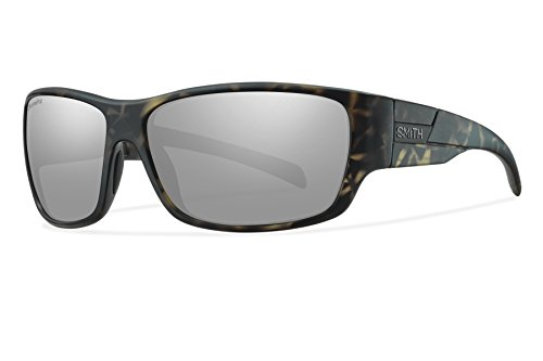 Smith Optics Frontman Chromapop Polarized Sunglasses, Matte Camo, Platinum Mirror