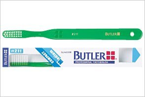Butler Toothbrush #211, 12 Count