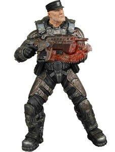 (NECA Gears of War 2 Colonel Victor Hoffman Action Figure )