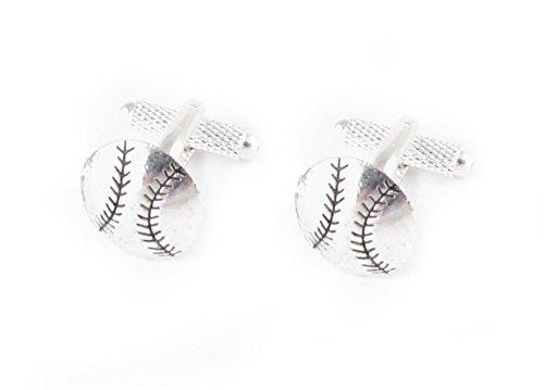 Baseball Cufflinks, Sports Ball cuff links , Wedding Cufflinks, Groom, Father of the Bride Gift
