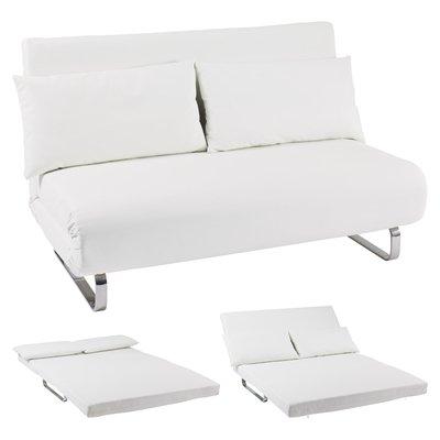 Superb Stylus Faux Leather Sofa Bed White Amazon Co Uk Kitchen Home Ibusinesslaw Wood Chair Design Ideas Ibusinesslaworg