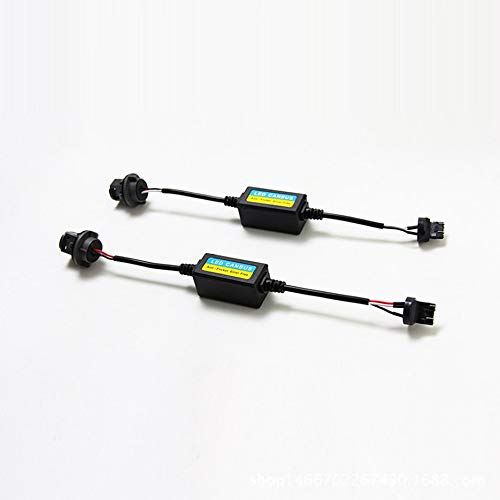 2x T20 7443 LED Error Canceller Canbus Resistencia de carga Hyper ...