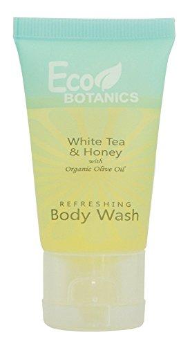 Eco Botanics Travel-Size Hotel Body Wash Soap, 1 oz. Case of 300