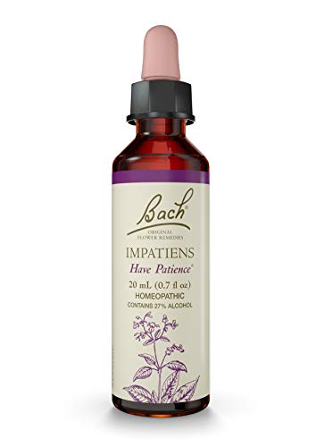 Bach Original Flower Remedies Supplement, Impatiens, 20 ml, 0.7 Fluid Ounce