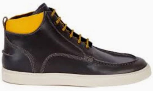 Dsquared2 Stivale Da Barca Brunito Con Colletto A Contrasto (46 Eu / 13 Us)