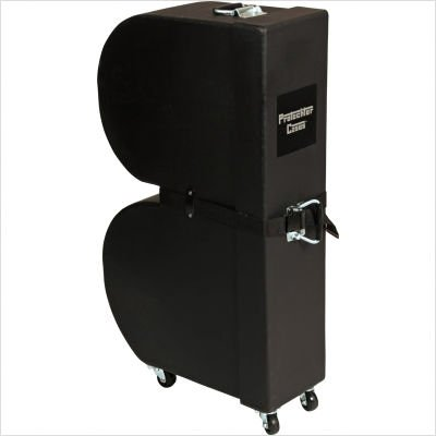 (Gator Cases Protechtor Series Classic Upright Timbale Case with Wheels (GP-PC310))