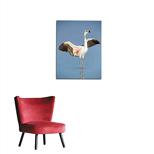 longbuyer Wall Sticker Decals James s Flamingo in Chile Mural 24